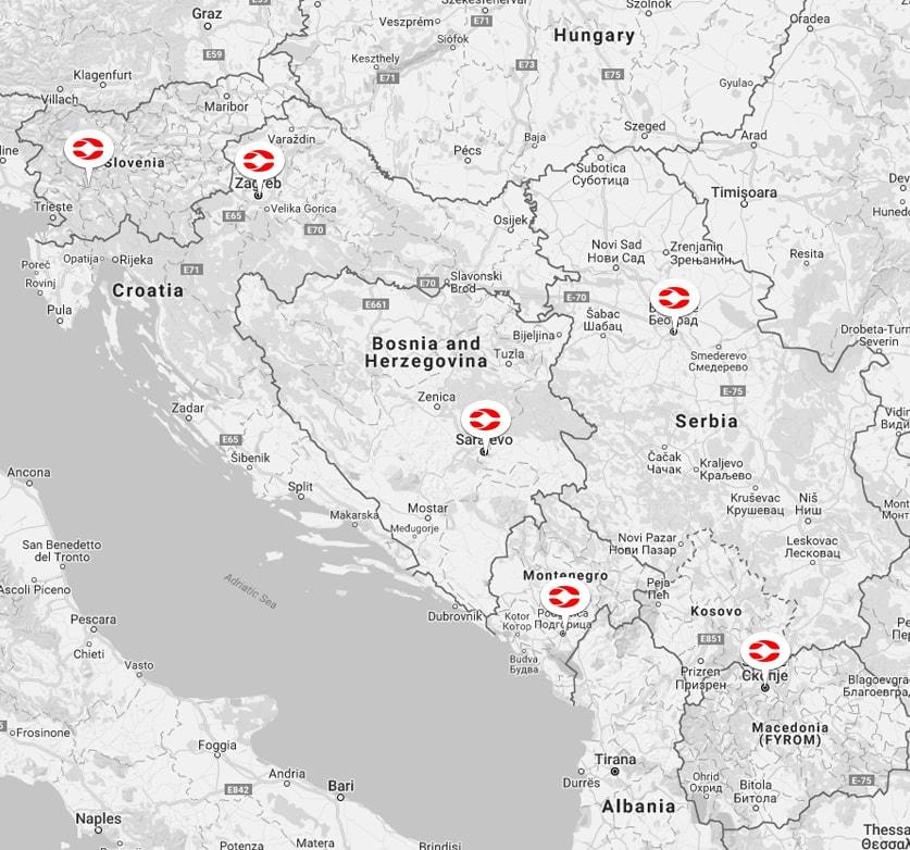comtrade distribution map